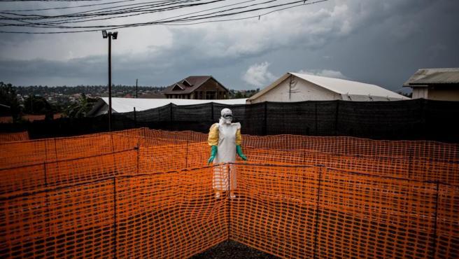 Instalaciones humanitarias en Bunia, Rep. Democrática de Congo.