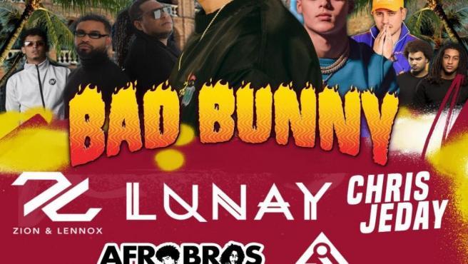 LUNAY Y CHRIS JEDAY SE SUMAN A BAD BUNNY PARA ENCABEZAR EL LATIN FEST