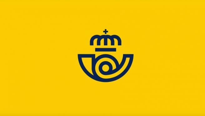 Imagen que muestra el nuevo logo de Correos.