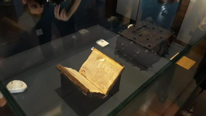 El códice del 'Cantar de mío Cid'.
