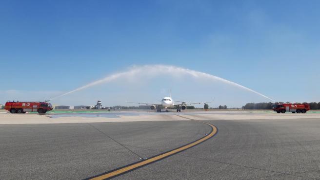 Sevilla.- Vueling incorpora un nuevo avión en el aeropuerto