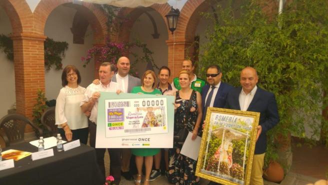 Córdoba.- La ONCE dedicará el cupón del próximo 10 de junio a la Virgen de la Luna de Villanueva de Córdoba