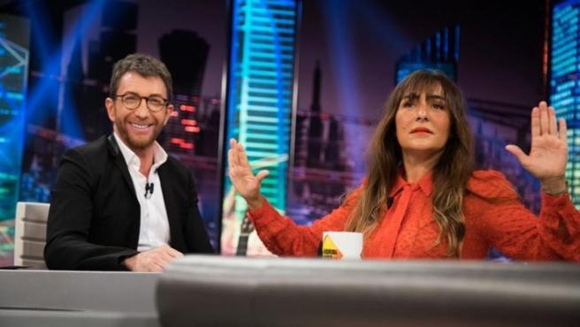 Candela Peña, en 'El hormiguero'.