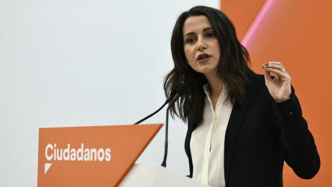 Inés Arrimadas en una foto de archivo.
