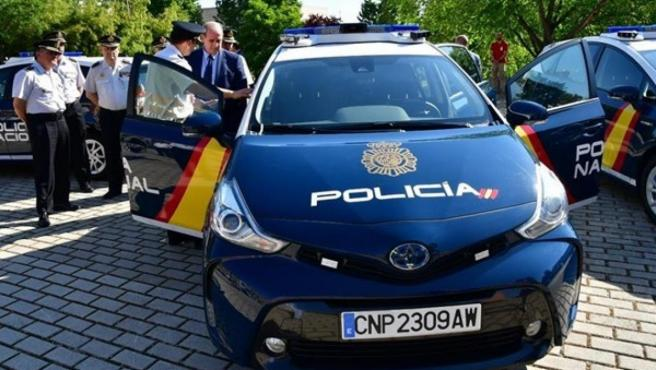 Coches iZ de la Policía Nacional.
