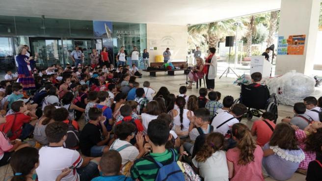 Málaga.- Más de 2.500 alumnos de una treintena de centros escolares participan en la campaña 'Yo sí cuido el agua'