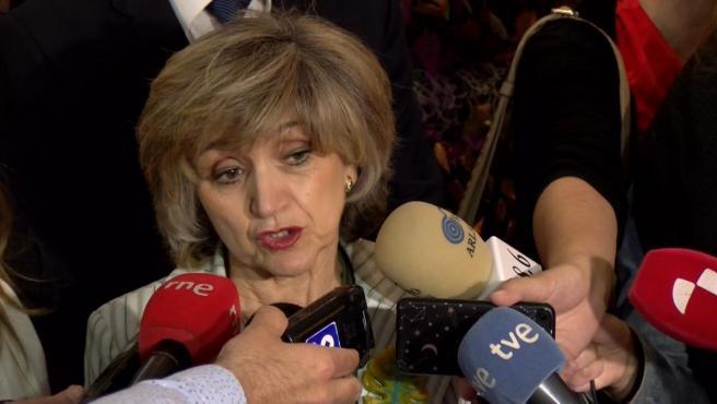 Carcedo defiende la 'igualdad' en el calendario de vacunación en toda España y ensalza el alto grado de cobertura