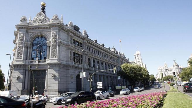 Se de del Banco de España en Madrid.