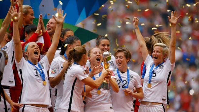 Estados Unidos, actual campeona mundial.
