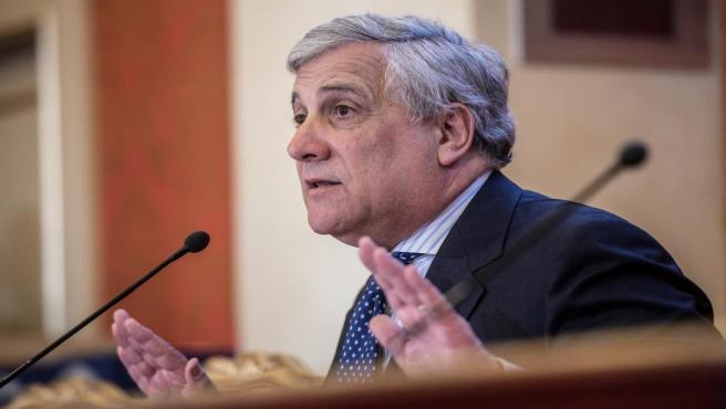 Antonio Tajani presents Forza Italia candidates for EU elections