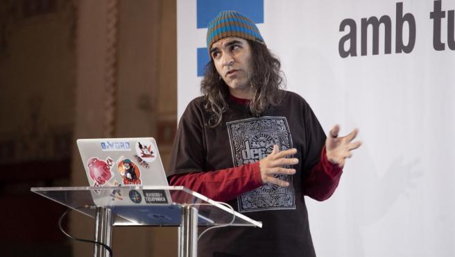 El 'hacker' Chema Alonso, que ahora trabaja para Telefónica.