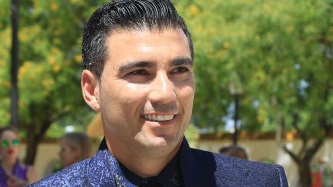 José Antonio Reyes, en una imagen de archivo del día de su boda con Noelia López, en 2017.