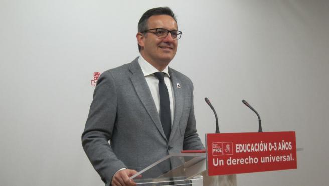 El secretario general del PSRM-PSOE, Diego Conesa.