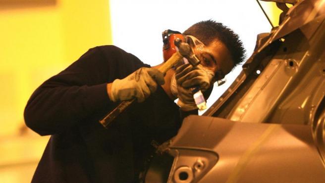 Imagen de archivo de un trabajador.