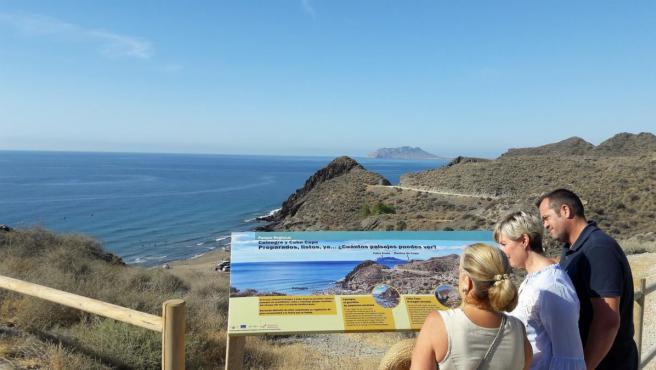 Playa de Calnegre en Lorca