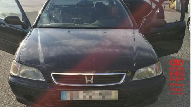 Sucesos.- Detenido un conductor francés que viajaba desde Murcia a Francia sin permiso de conducir