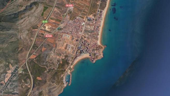 Castellón.- Sucesos.- Rescatan a tres menores en la misma cala de Oropesa donde horas antes quedaron atrapados otros dos