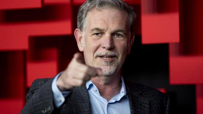 Reed Hastings, fundador de Netflix, el pasado mes de abril en Madrid.
