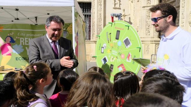 Sevilla.- En marcha la III GreenWeek, que planta un árbol por cada kilo de aparatos eléctricos y electrónicos reciclados