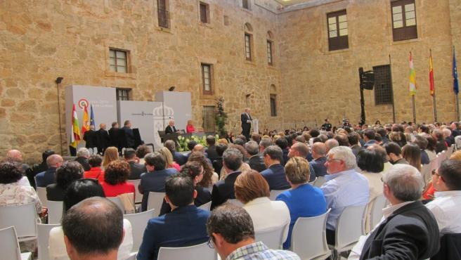 López de Silanes y Basilio García Pérez-Aradros, distinguidos como Riojanos Ilustres por su contribución a La Rioja