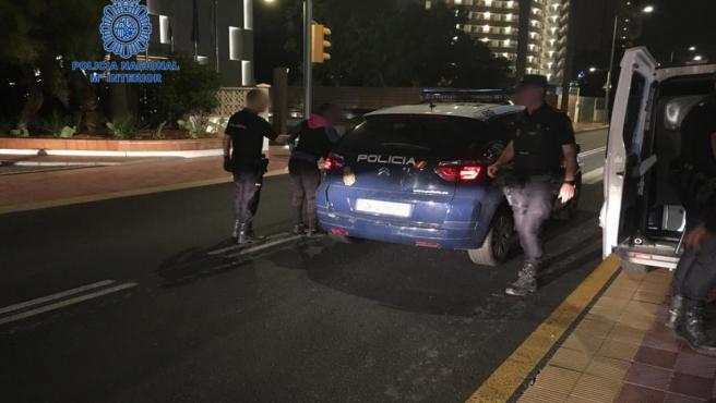 La Policía Nacional detiene en cuatro días en Playa de Palma a 18 personas por varios delitos