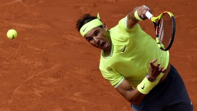Rafa Nadal, en la final de Roland Garros 2019.