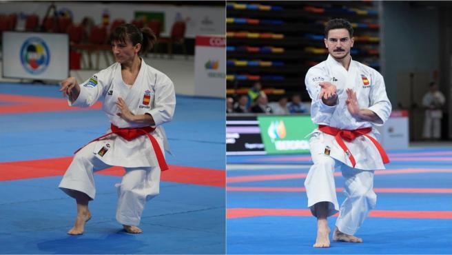 Sandra Sánchez y Damián Quintero, oro y plata en la Premier League de Shanghái