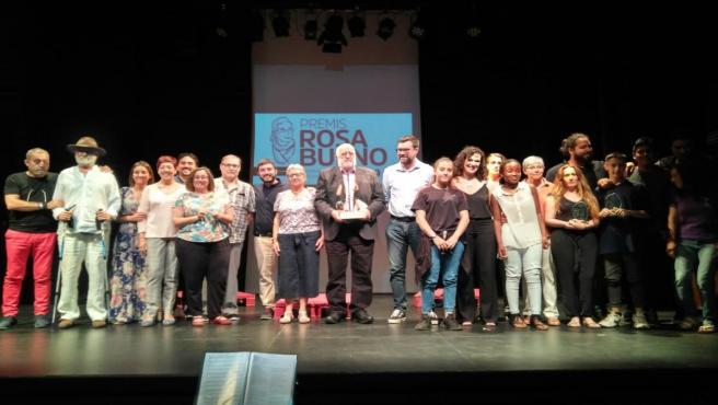 El Teatro Municipal Catalina Valls acoge la entrega de los premios Rosa Bueno