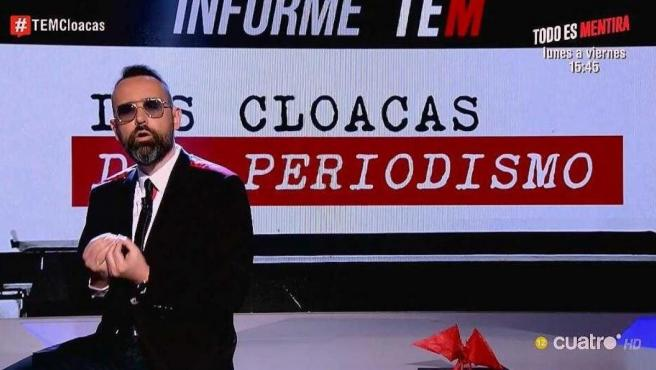 Risto Mejide, en el especial 'Las cloacas del periodismo'.