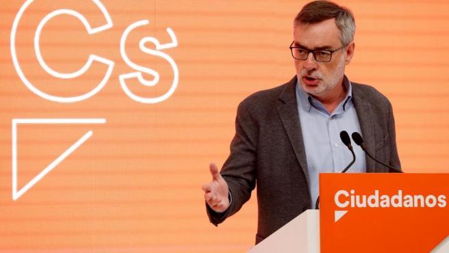 El secretario general de Cs, José Manuel Villegas.