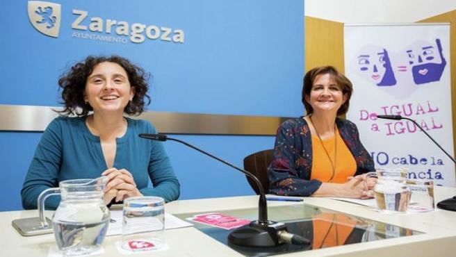Zaragoza.- La nueva campaña municipal, 'De igual a igual', pretende prevenir la violencia de género