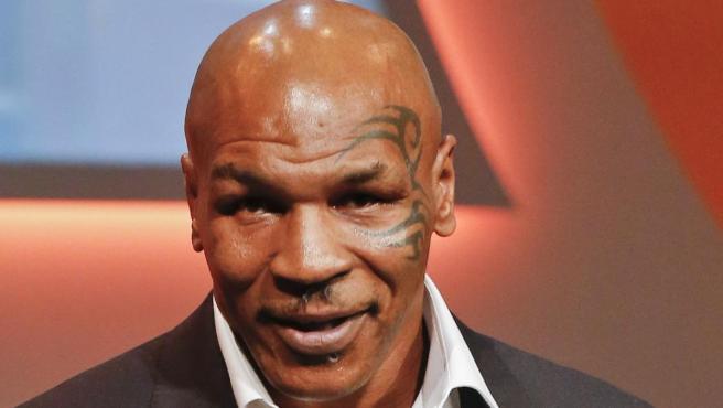 Mike Tyson, en una entrega de premios en Mónaco.