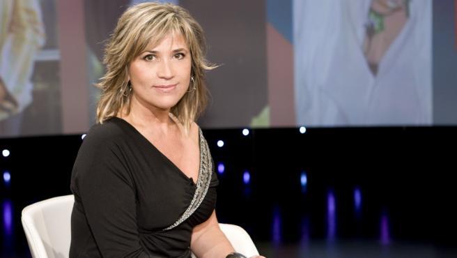 La presentadora Julia Otero.