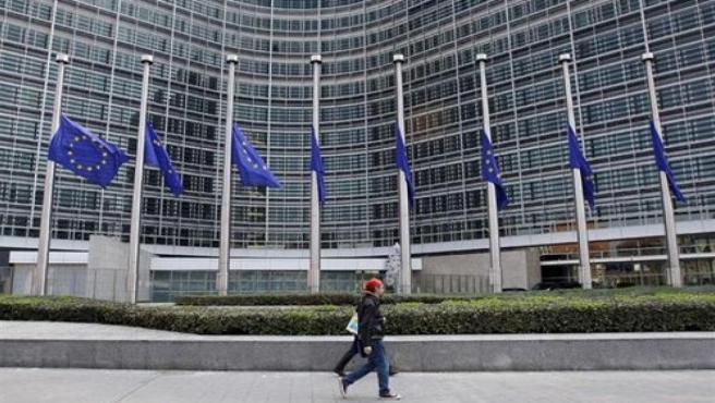 Parlamentu européu, en Bruseles.