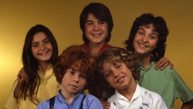 El grupo musical infantil Parchís.