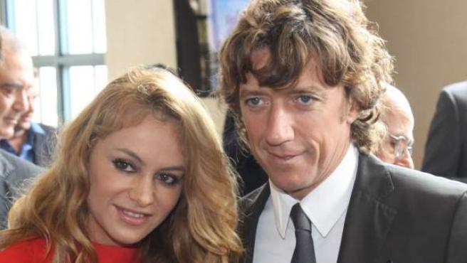 Paulina Rubio y Nicolás Vallejo Nájera 'Colate'.