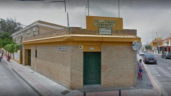 Colegio de Educación Infantil y Primaria (CEIP) Cervantes de Dos Hermanas.