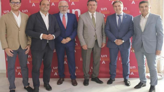 Sevilla.- Espadas y Maldonado inauguran en la UNIA una jornada sobre autoconsumo eléctrico como oportunidad de empleo