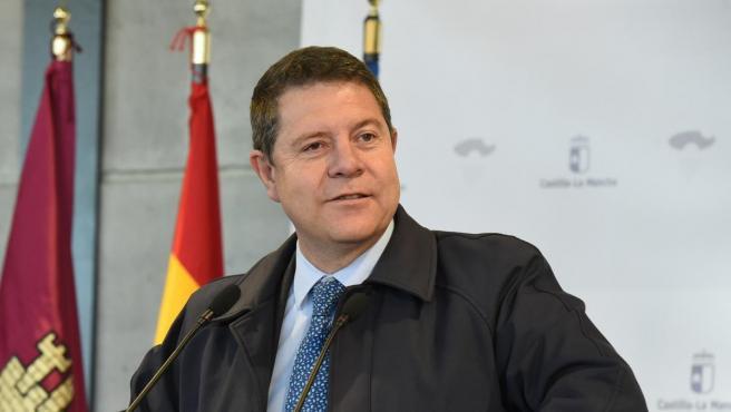 El presidente de Castilla La-Mancha, Emiliano García-Page.