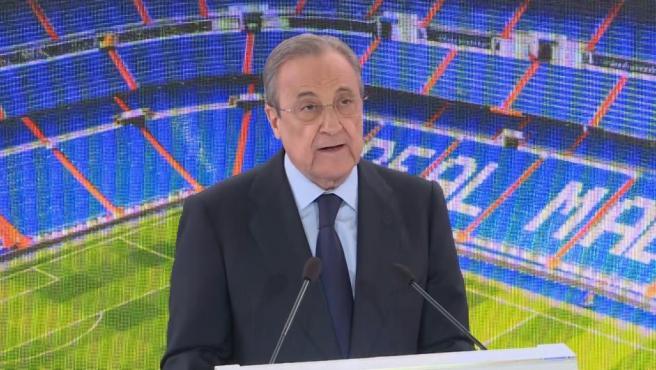 """Florentino Pérez: """"La leyenda debe continuar con jugadores como Hazard"""""""