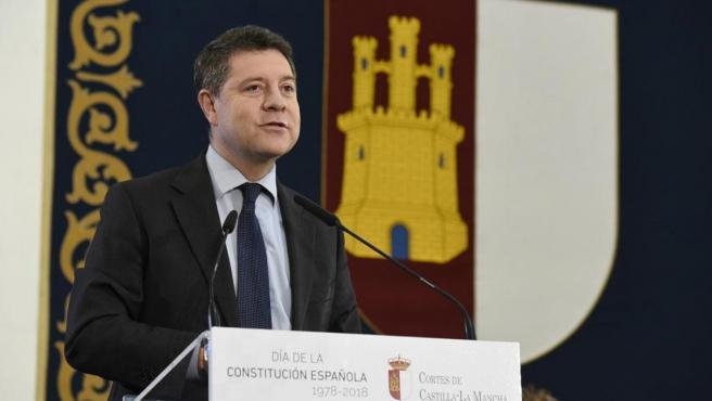 El presidente de Castilla La-Mancha, el socialista Emiliano García-Page.
