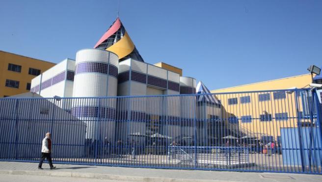 El Centro de Internamiento de Extranjeros, CIE, de Aluche (Madrid).