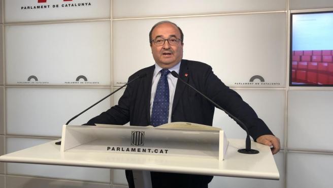 Iceta no ve 'terreno común' para colaborar con ERC en Barcelona