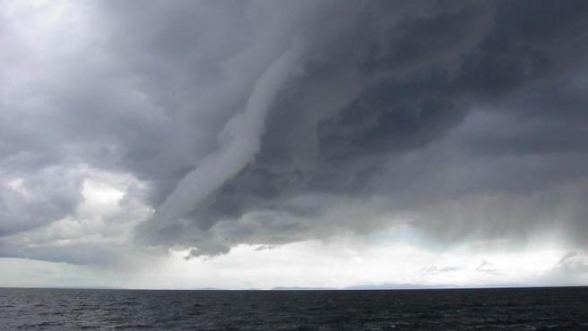 Imagen de archivo de una tormenta.