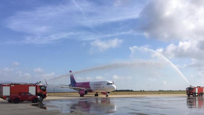 Castellón.- Abre la nueva ruta aérea entre Castellón y Budapest, con dos frecuencias semanales hasta el 15 de septiembre