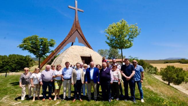 Ceniceros cree que la nueva ermita de la Esclavitud contribuye a fortalecer las tradiciones de Cihuri