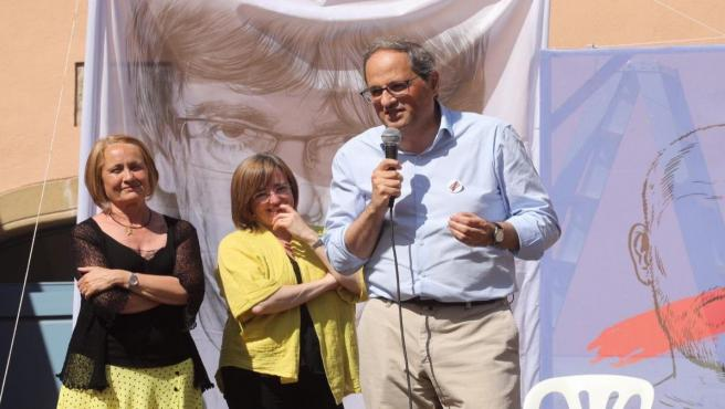 Torra critica los 'pactos incomprensibles con partidos del 155' de algunos independentistas