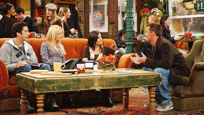 Fotograma de la serie 'Friends'.