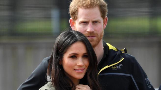 Meghan Markle y el príncipe Enrique de Inglaterra.