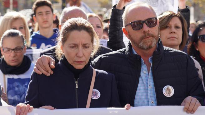 Antonio del Castillo y Eva Casanueva, padres de Marta del Castillo.